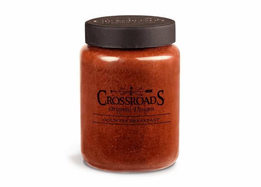 Country Breakfast 26 oz. Crossroads Candle