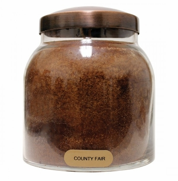 County Fair 34 oz Papa Jar Keepers of the Light Candle by A Cheerful Giver