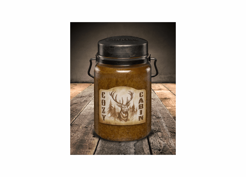 Cozy Cabin 26 oz. McCall's Classic Jar Candle