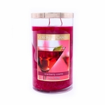 Cranberry Cosmo 18 oz. Bronze Collection Colonial Candle | Bronze Collection Colonial Candle