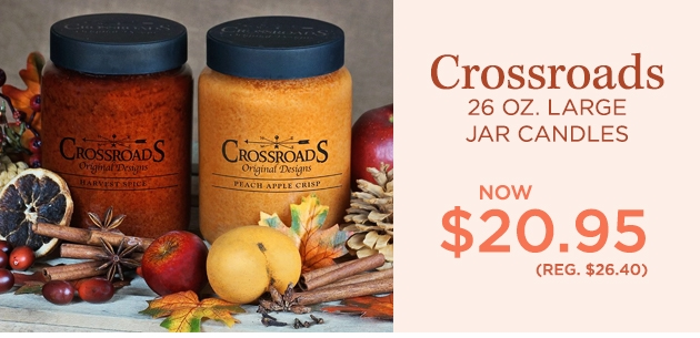 Crossroads 26 oz. Large Candles