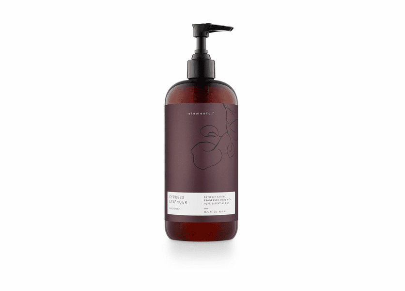 Cypress Lavender Elemental Hand Soap by Illume Candle