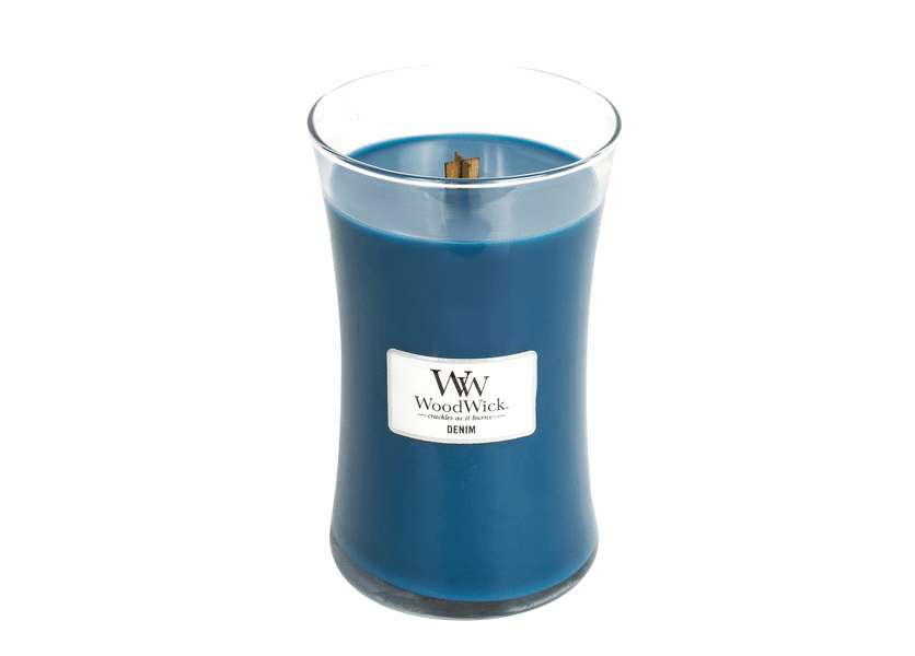 Denim WoodWick Candle 22 oz.