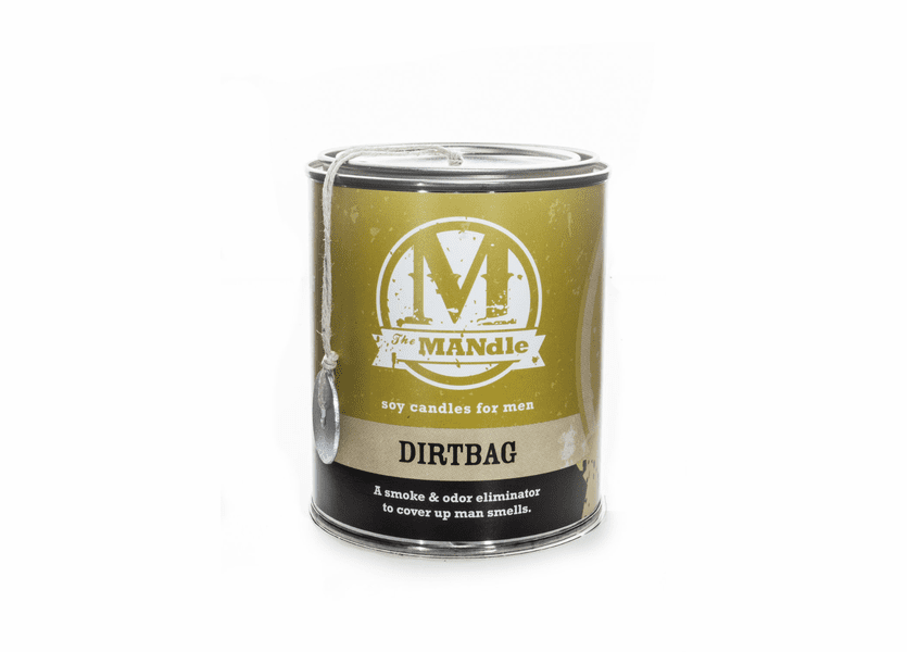 Dirtbag 15 oz. Paint Can MANdle by Eco Candle Co.