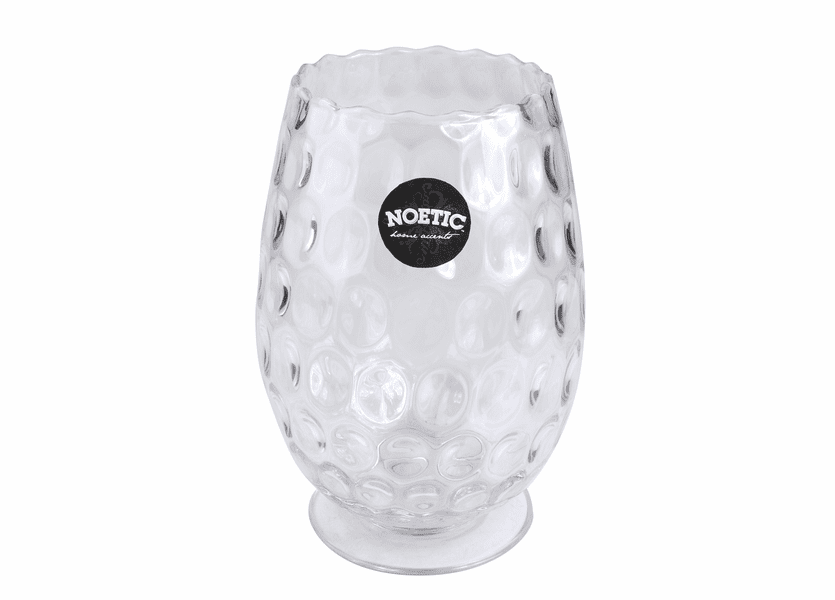 "_DISCONTINUED - 10.5"" Bubble Glass Noetic Candle Holder"