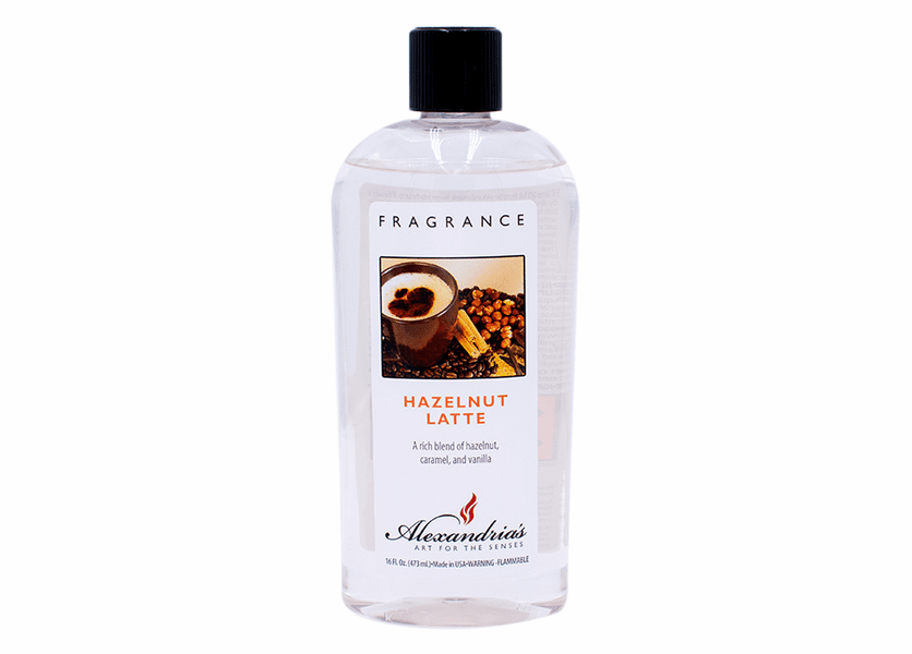 _DISCONTINUED - 16 oz. Hazelnut Latte Alexandria's Fragrance Lamp Oil