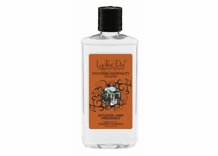 _DISCONTINUED - 16 oz. La Tee Da Fragrance Lamp Oils: 16oz.  Southern Hospitality Pomander La Tee Da Fragrance Oil