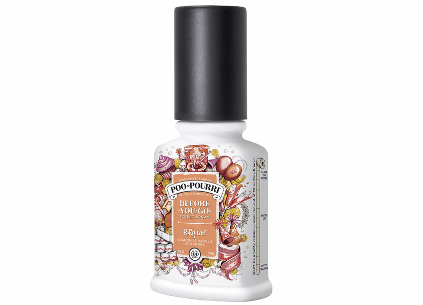 _DISCONTINUED - 2 oz. Potty On Poo-Pourri Bathroom Spray