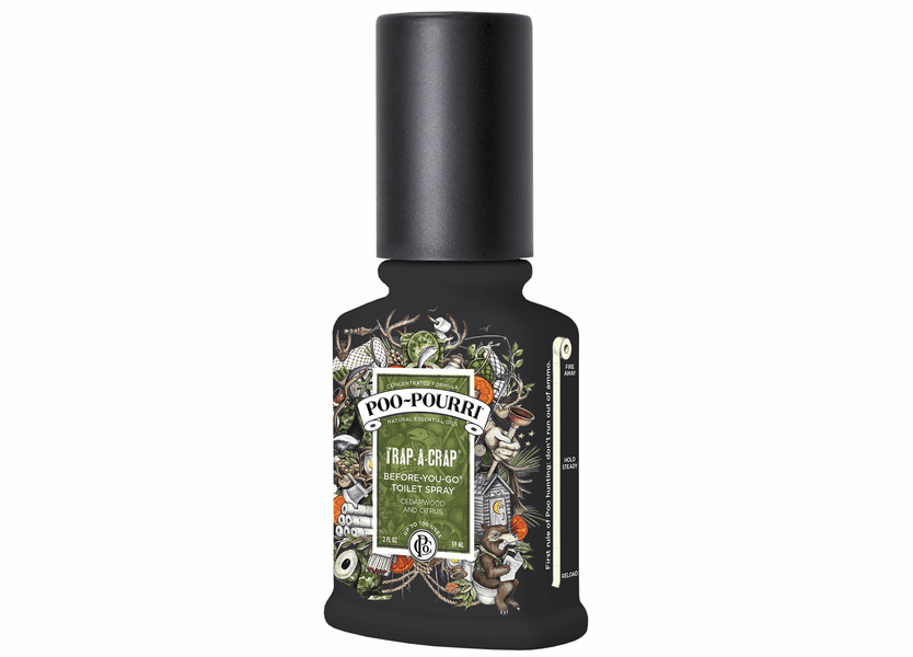 _DISCONTINUED - 2 oz. Trap-A-Crap Poo-Pourri Bathroom Spray