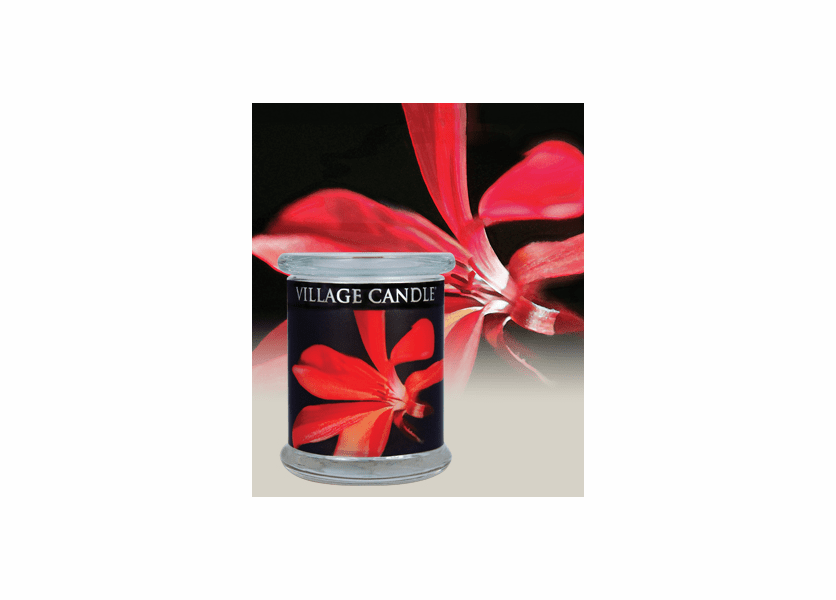 _DISCONTINUED - 21 oz. Exotica Radiance Wooden Wick Village Candle