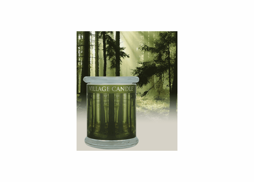 _DISCONTINUED - 21 oz. Siberian Pine Radiance Wooden Wick Village Candle