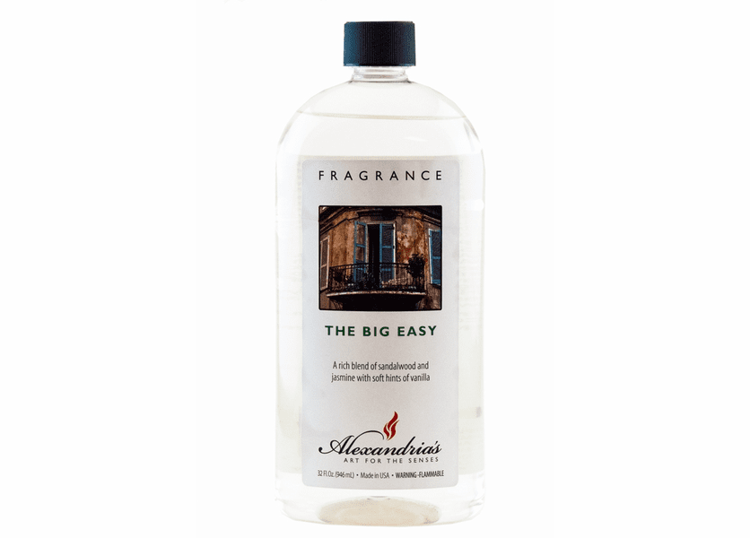 _DISCONTINUED - 32 oz. The Big Easy Alexandria's Fragrance Lamp Oil