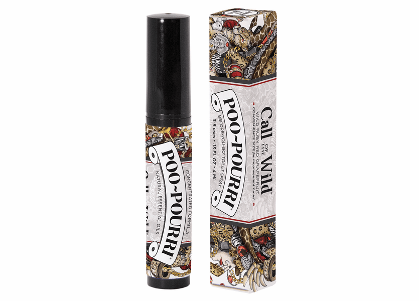 _DISCONTINUED - 4 mL Call of the Wild Poo-Pourri Bathroom Spray