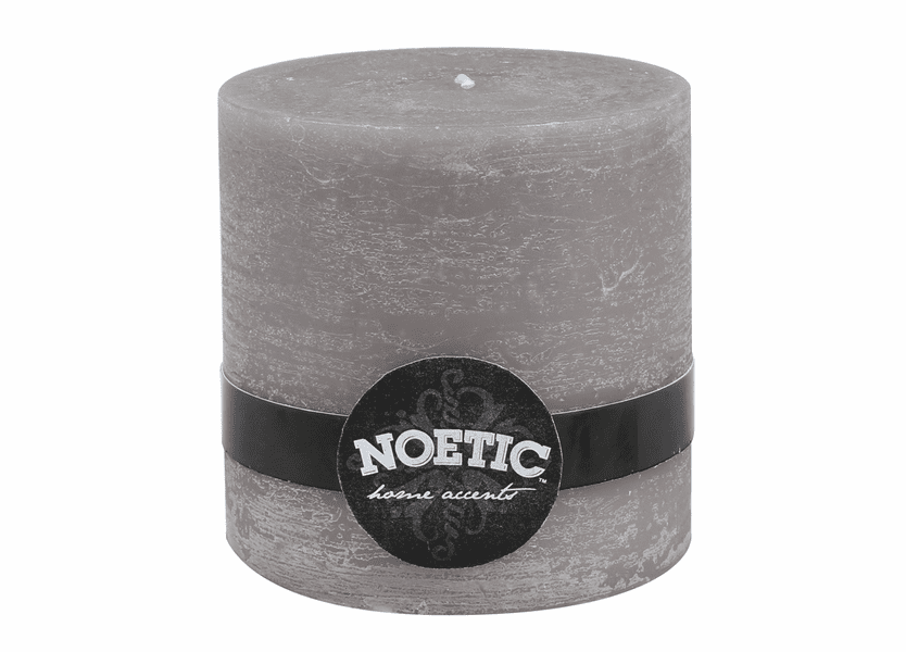 """_DISCONTINUED - 4"""" x 4"""" Iron Gate Noetic Pillar Candle"""