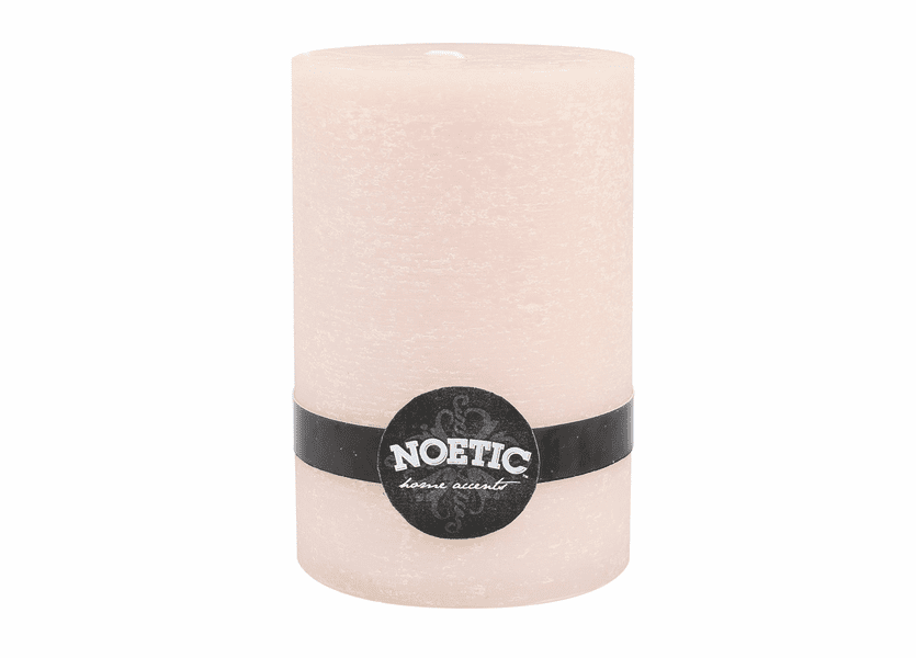 """_DISCONTINUED - 4"""" x 6"""" Ivory Pearl Noetic Pillar Candle"""