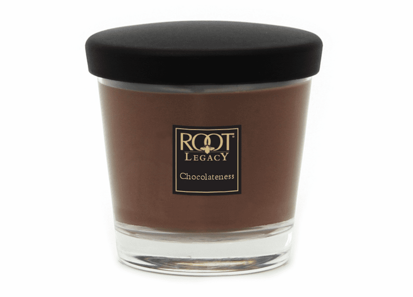 _DISCONTINUED - 7 oz. Chocolateness Small Veriglass Candle by Root