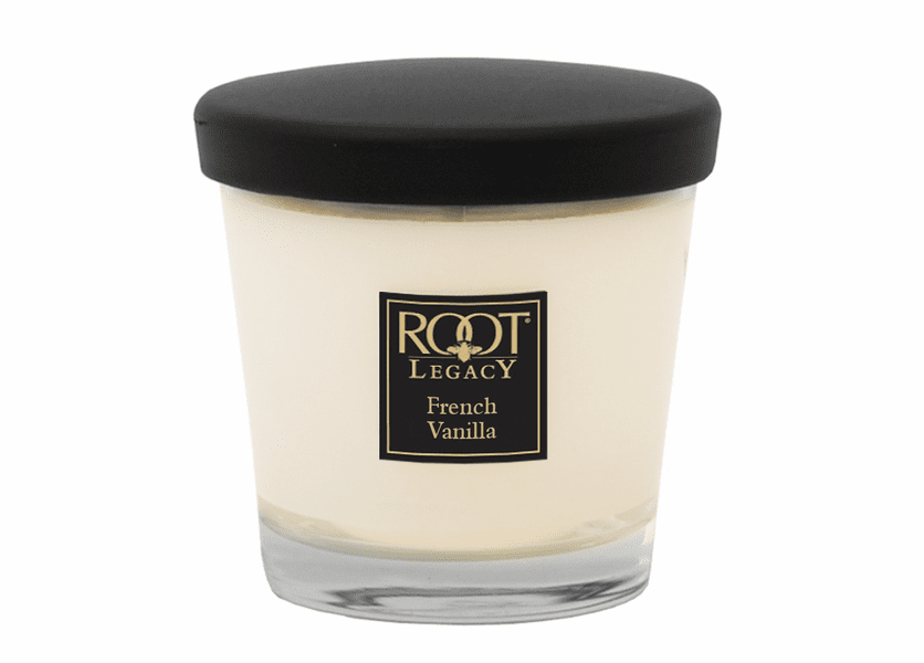_DISCONTINUED - 7 oz. French Vanilla Small Veriglass Candle by Root