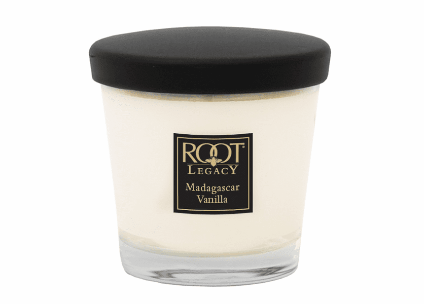 _DISCONTINUED - 7 oz. Madagascar Vanilla Small Veriglass Candle by Root