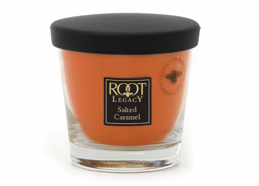 _DISCONTINUED - 7 oz. Salted Caramel Small Veriglass Candle by Root