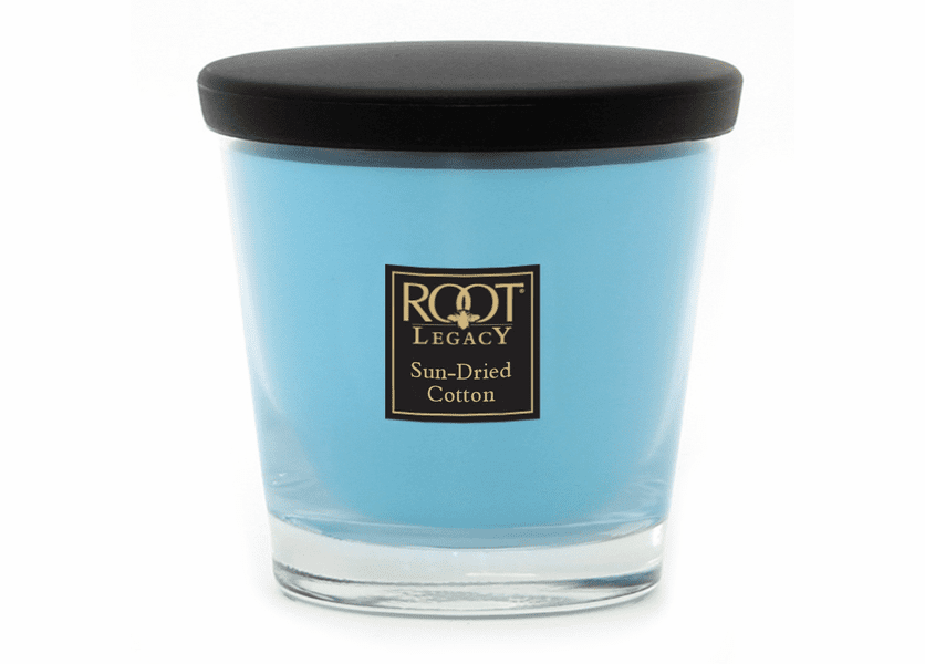 _DISCONTINUED - 7 oz. Sun Dried Cotton Veriglass Root Candle