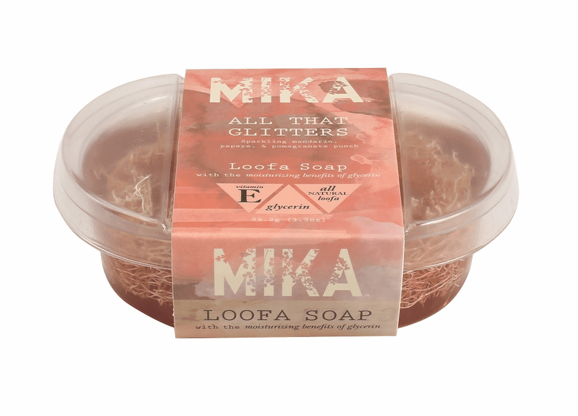 _DISCONTINUED - All That Glitters MIKA Loofa Soap