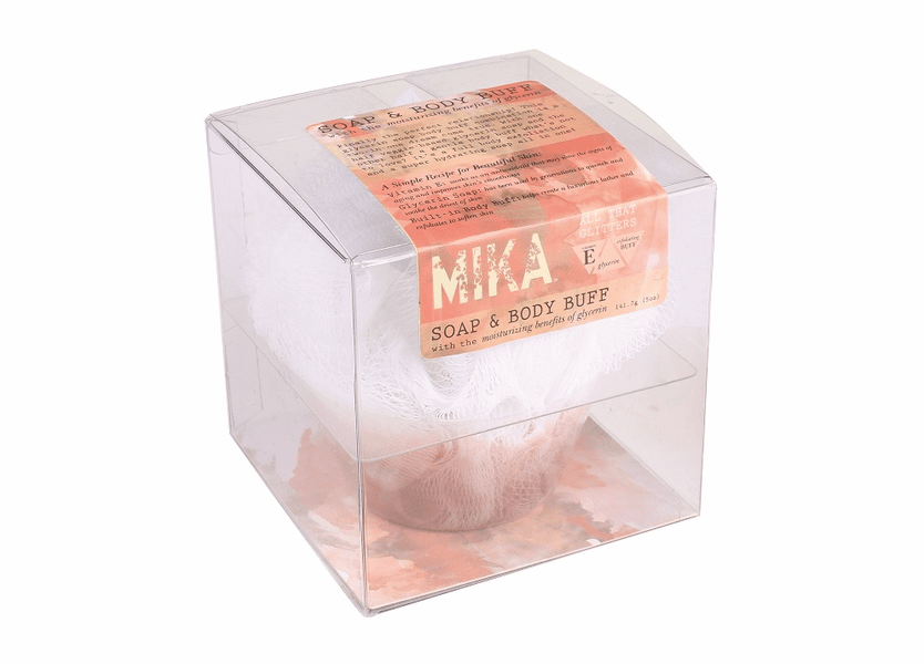 _DISCONTINUED - All That Glitters MIKA Soap & Body Buff