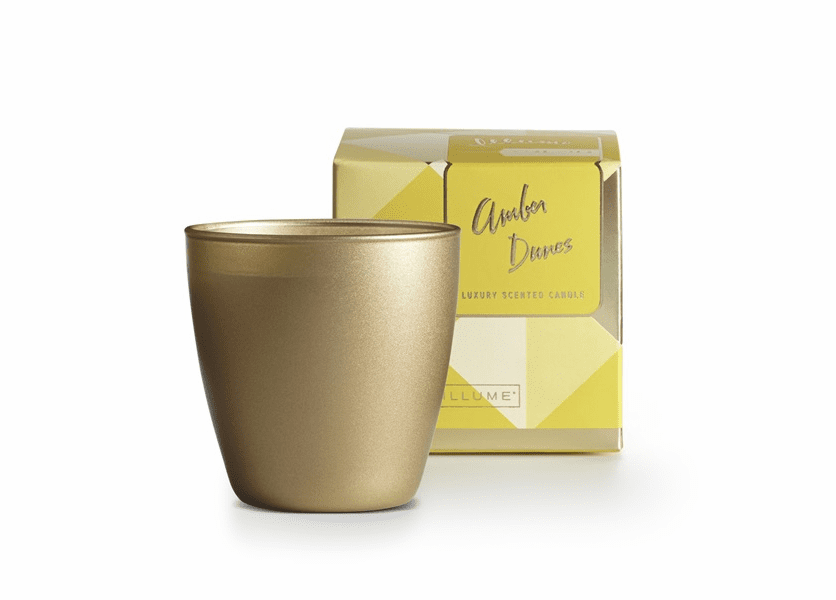 _DISCONTINUED - Amber Dunes Demi Boxed Glass Illume Candle
