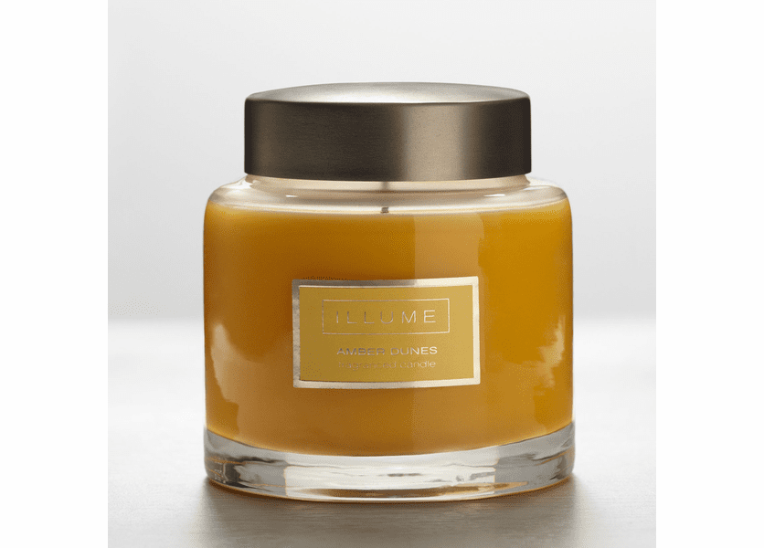 _DISCONTINUED - Amber Dunes Essential Glass Jar Illume Candle