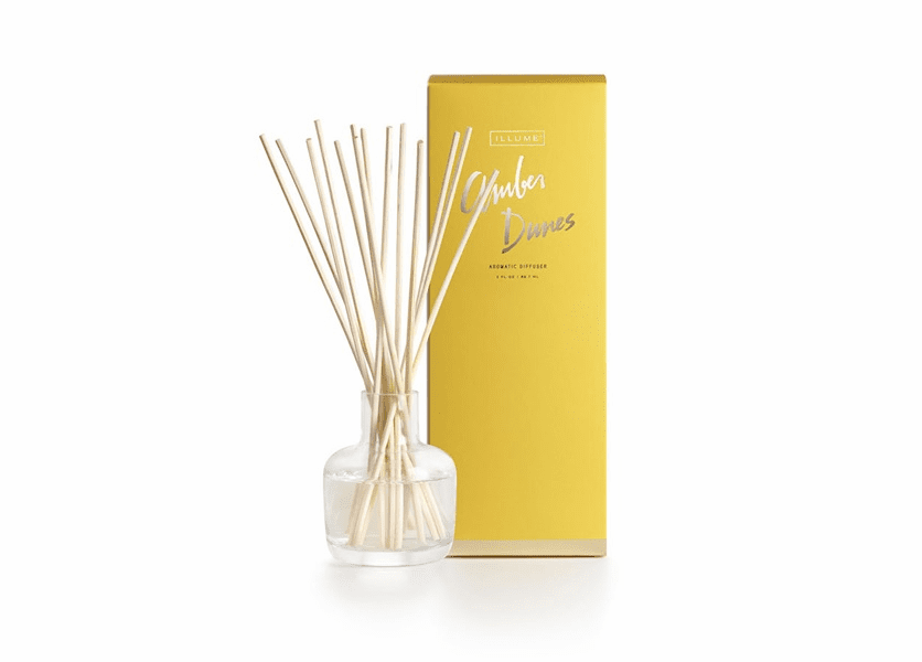 _DISCONTINUED - Amber Dunes Essential Reed Diffuser by Illume Candle