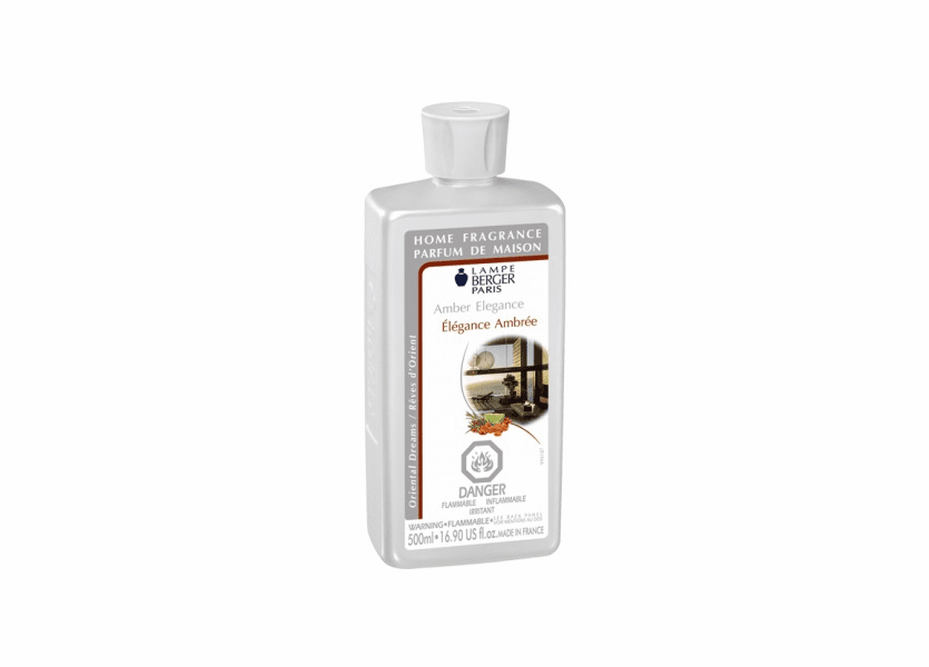 _DISCONTINUED - Amber Elegance 500ML Fragrance Oil by Lampe Berger