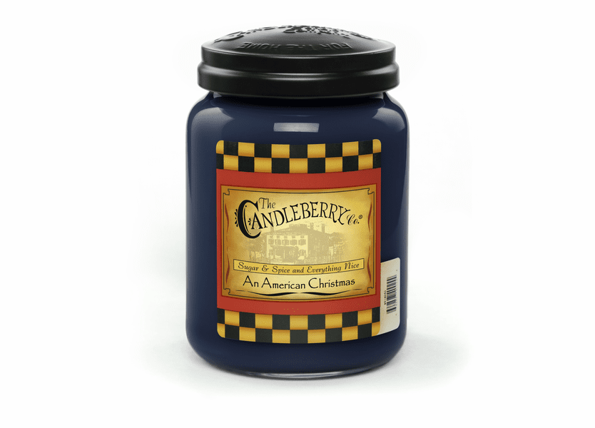 _DISCONTINUED - *An American Christmas 26 oz. Large Jar Candleberry Candle