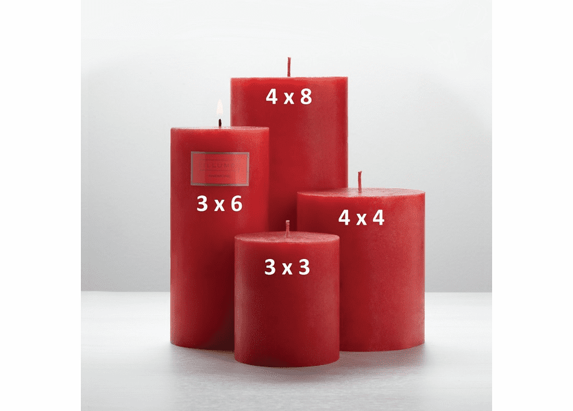 _DISCONTINUED - Anemone 3 x 6 Round Pillar Illume Candle