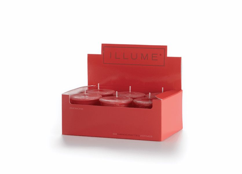 _DISCONTINUED - Anemone 6-Pack Votive Illume Candle
