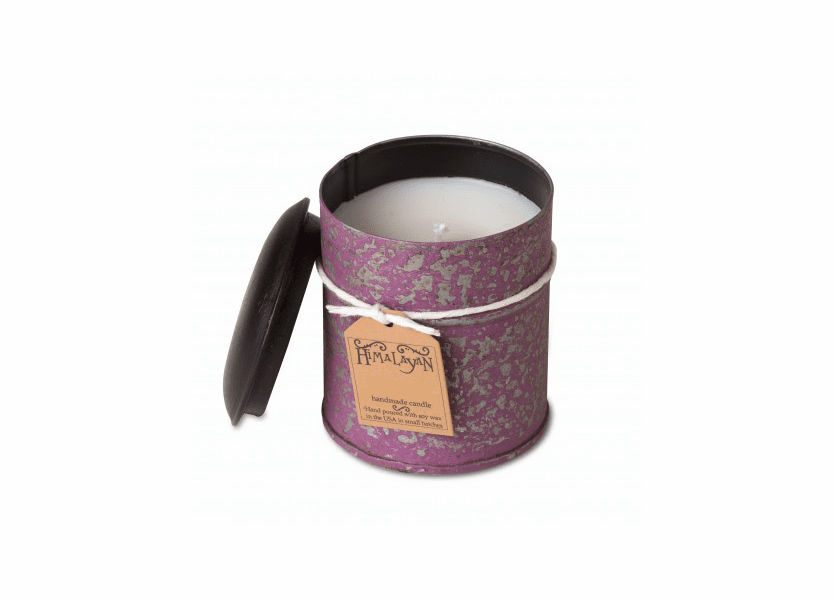 _DISCONTINUED - Anise & Black Peppercorn 10 oz Violet Spice Tin Candle by Himalayan Candles