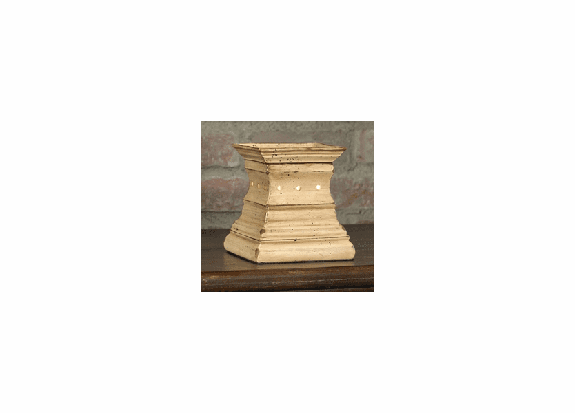 _DISCONTINUED - Antique White Crown Melter by McCall's