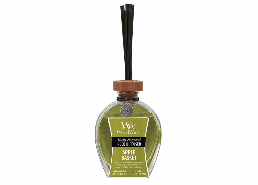 _DISCONTINUED - Apple Basket WoodWick 3 oz. Reed Diffuser