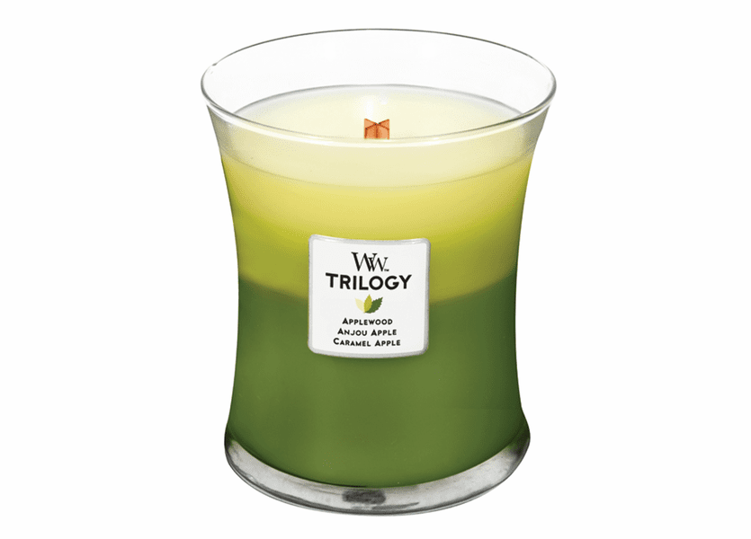 _DISCONTINUED - Apple Festival WoodWick Trilogy Candle 10oz