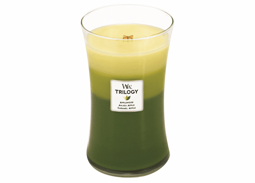 _DISCONTINUED - Apple Festival WoodWick Trilogy Candle 22oz