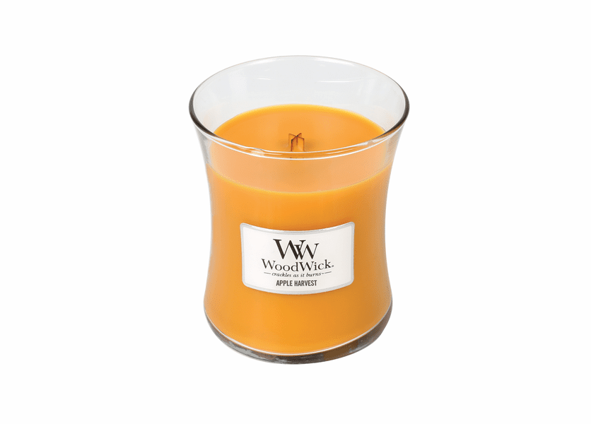_DISCONTINUED - Apple Harvest WoodWick Candle 10 oz.