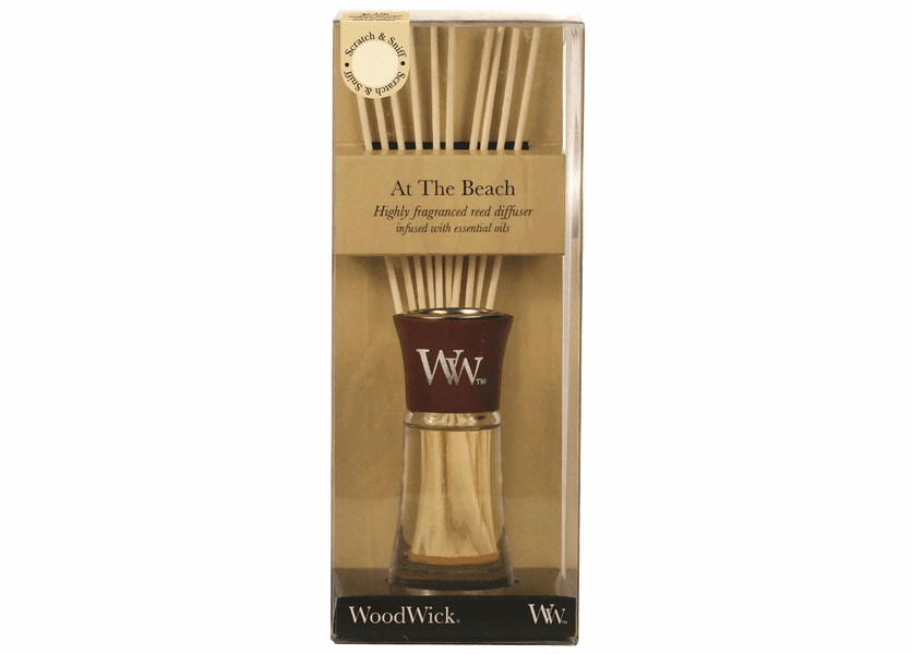 _DISCONTINUED - At The Beach WoodWick 2 oz. Reed Diffuser