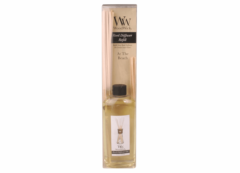 _DISCONTINUED - At The Beach WoodWick 7.4 oz. Reed Diffuser REFILL