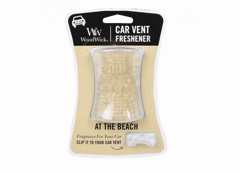 _DISCONTINUED - At The Beach WoodWick Car Vent Freshener