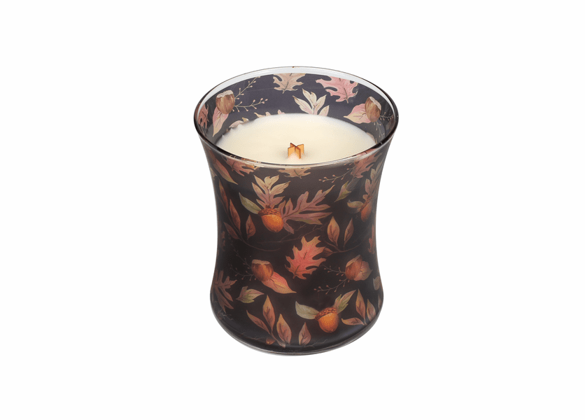 _DISCONTINUED - *Autumn Fall Comforts Hourglass WoodWick Candle