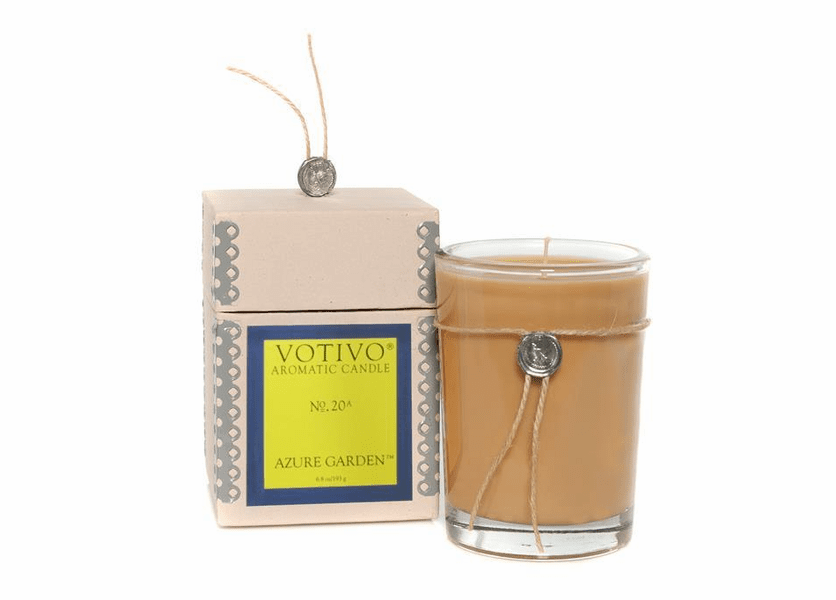 _DISCONTINUED - Azure Garden Aromatic Jar Votivo Candle