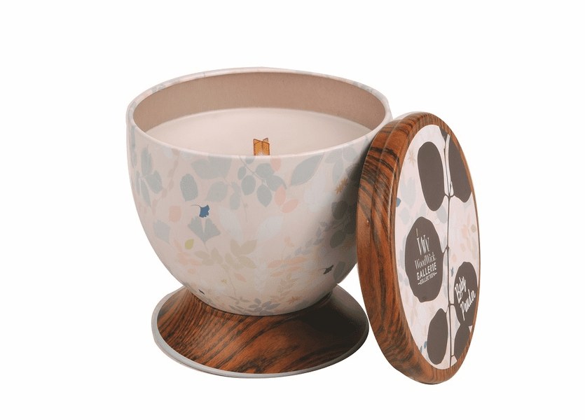 _DISCONTINUED - Baby Powder WoodWick Gallerie Collection Candle