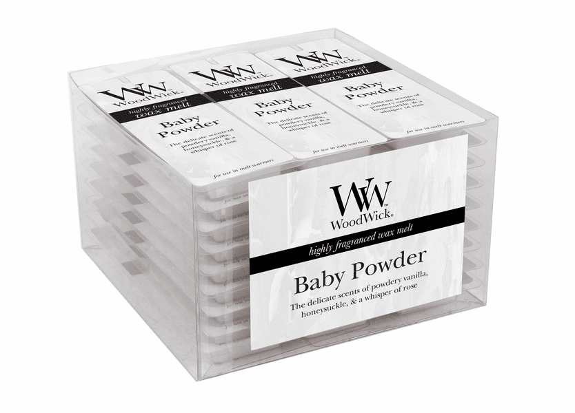 _DISCONTINUED - Baby Powder WoodWick Wax Melt