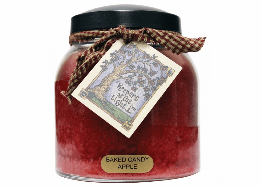 _DISCONTINUED - Baked Candy Apple 34 oz. Papa Jar Keepers of the Light Candle by A Cheerful Giver