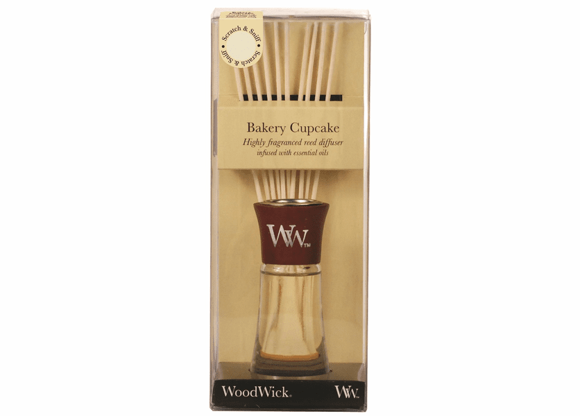 _DISCONTINUED - Bakery Cupcake WoodWick 2 oz. Reed Diffuser