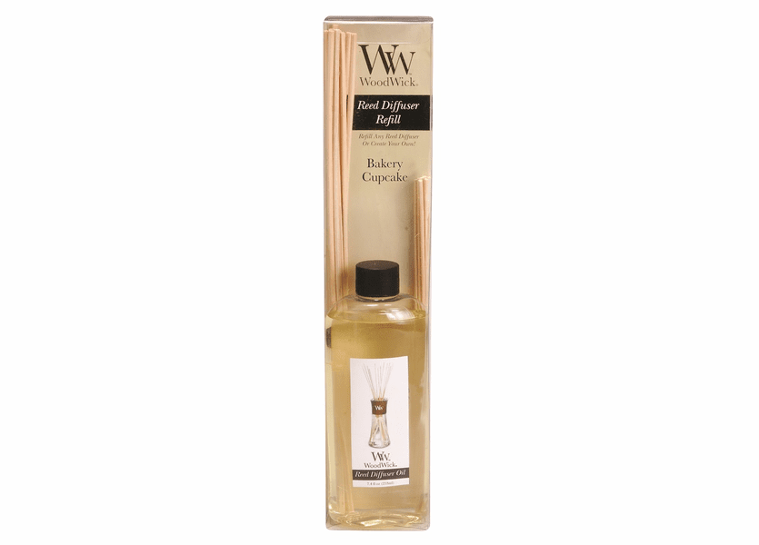 _DISCONTINUED - Bakery Cupcake WoodWick 7.4 oz. Reed Diffuser REFILL