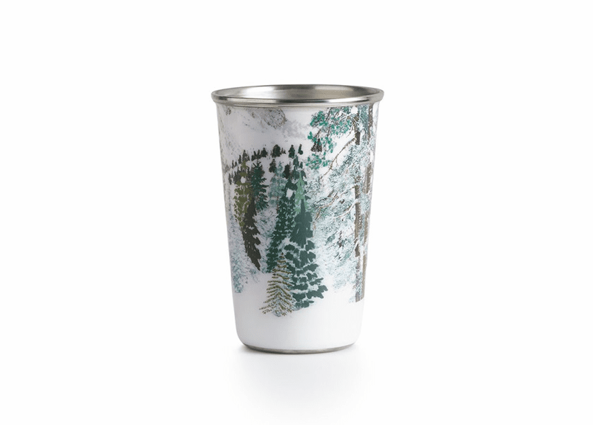 _DISCONTINUED - Balsam & Cedar Enameled Tumbler Illume Candle